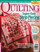 "We've Got Summer Quilting ""Covered""!"