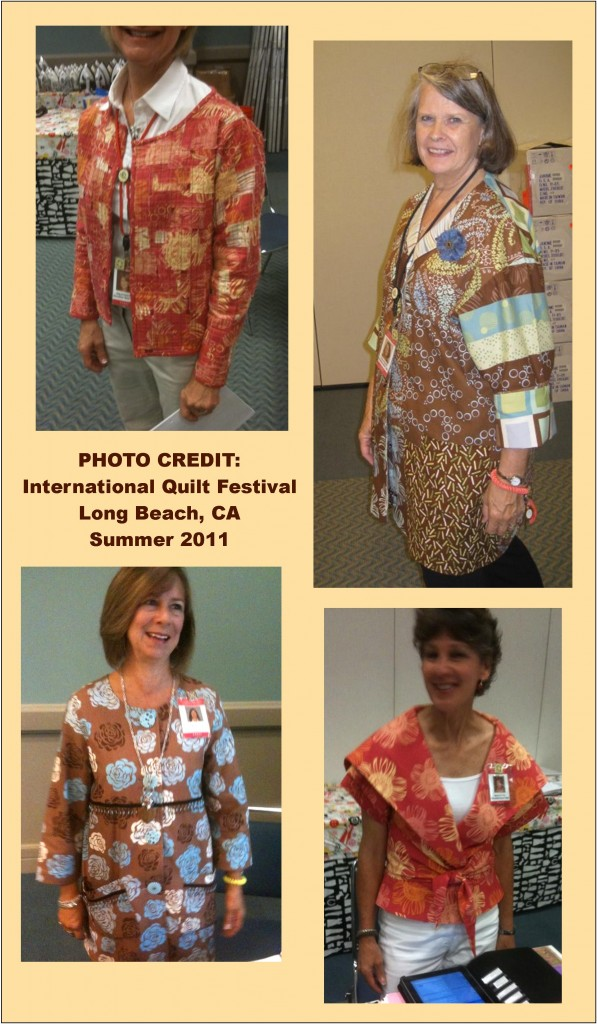 Quilt Fabrics... As FASHION!
