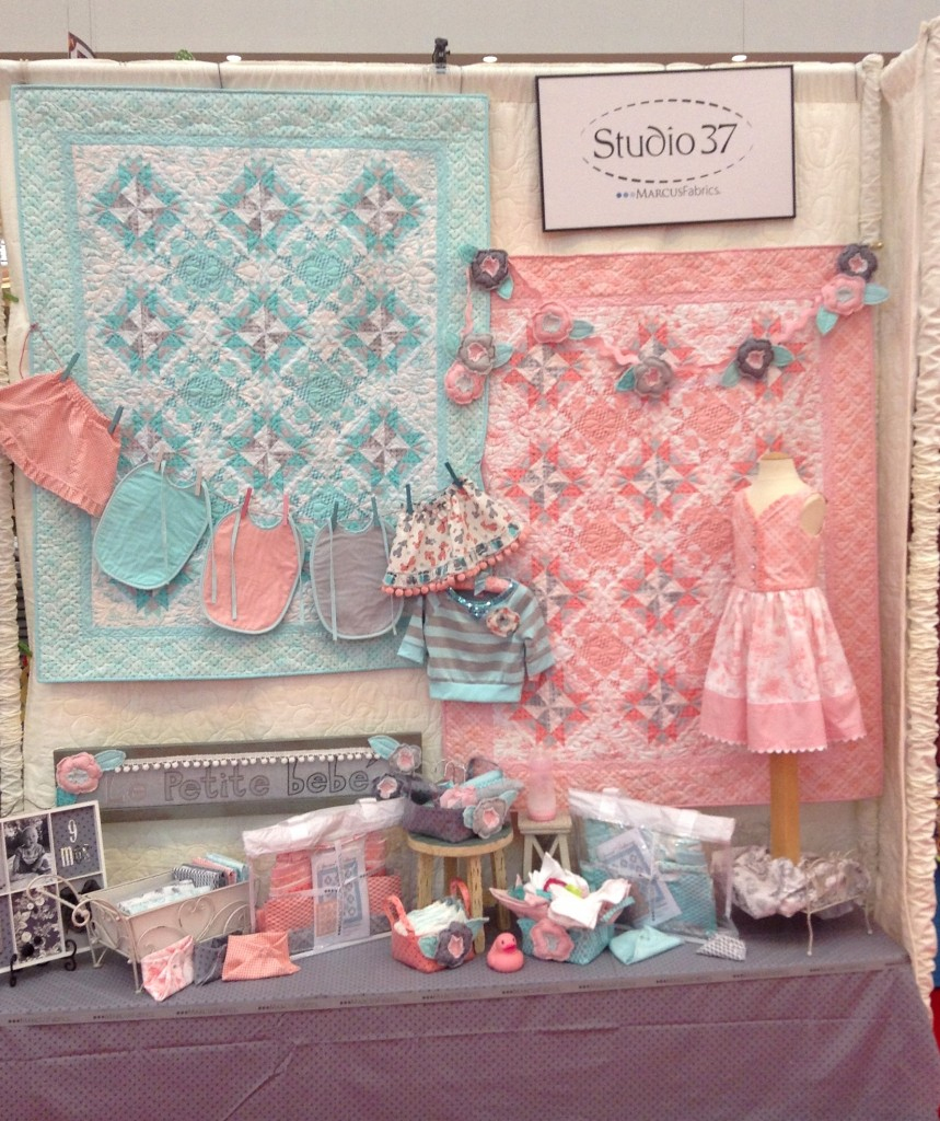 Precious Beginnings quilts and accessories