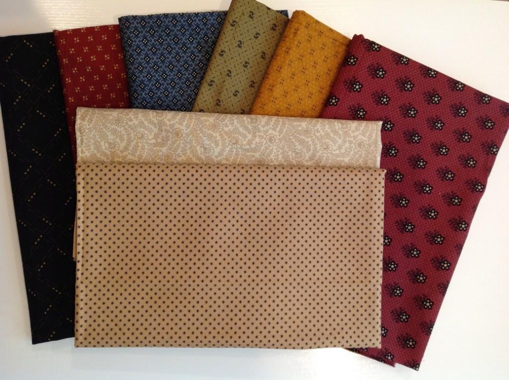 MB Friends & Companions Kit Fabrics 2