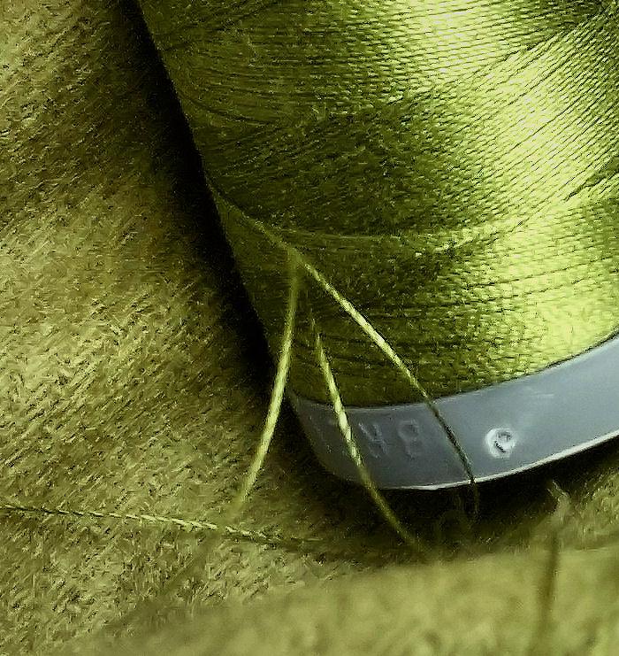 Wool+AurifilGREEN