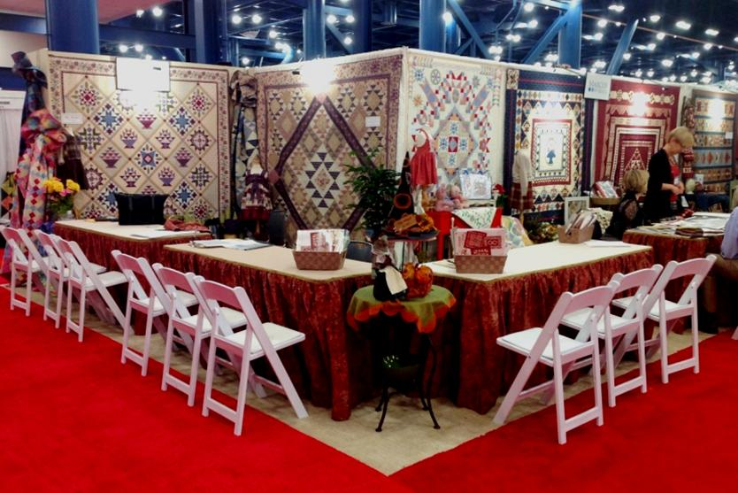 Marcus Booth #1802 -Fall '14 Quilt Market