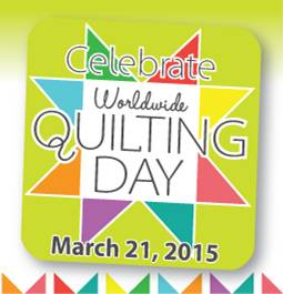 Worldwide Quilting Day logo