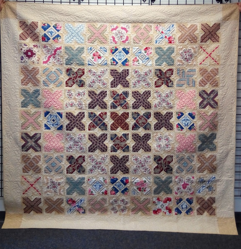 Marcus-ALS quilt by Vicki Bellino